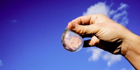 Tecnologia - Arriva l'acqua in sfere