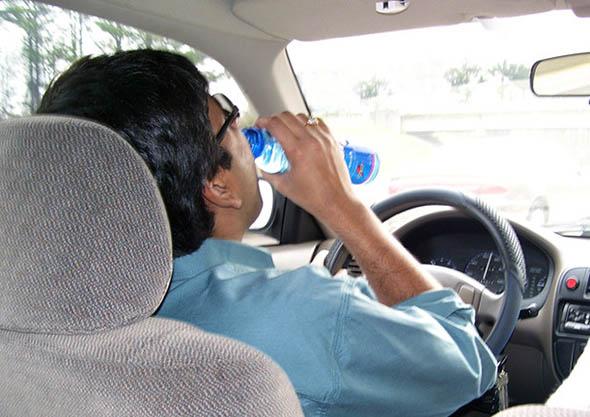 Automobili - Occhio a guidare senza bere - Si rischia l'ubriacatura