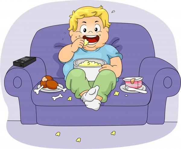 Bambini - Occhio alla TV in camera - Aumenta il rischio di obesità