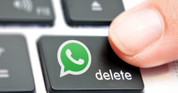 Whatsapp, in dirittura d'arrivo la cancellazione dei messaggi