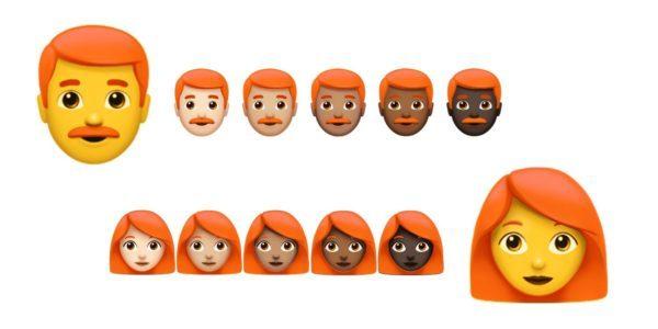 Emoticon, dall'anno prossimo arrivano quelle con i capelli rossi