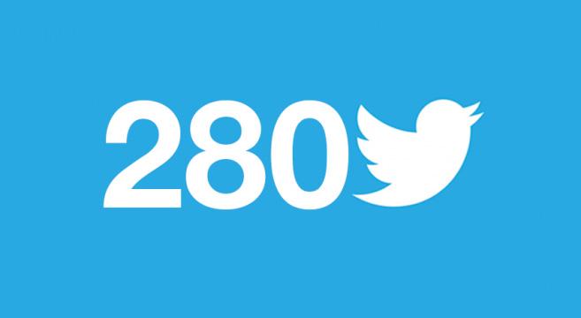 Twitter, è ufficiale: i caratteri disponibili passano da 140 a 280
