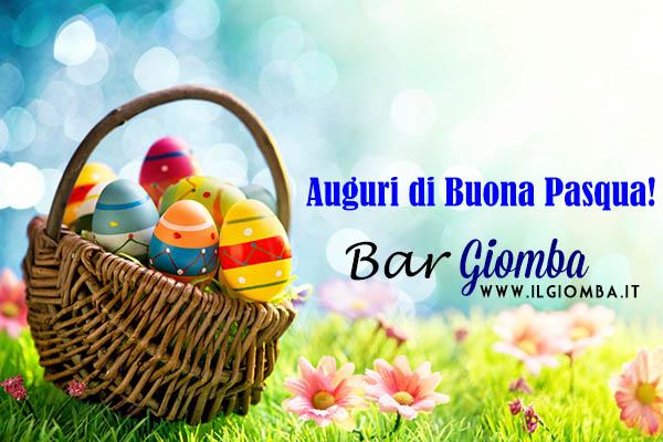 Buona Pasqua dal Bar Giomba!