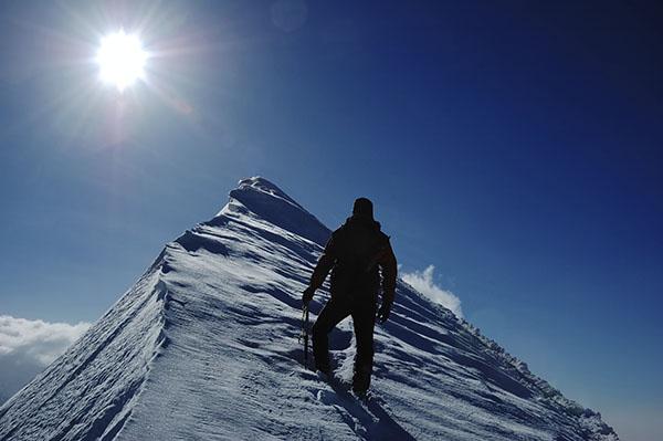 Quanta fatica per restare in piedi e non arrendersi…