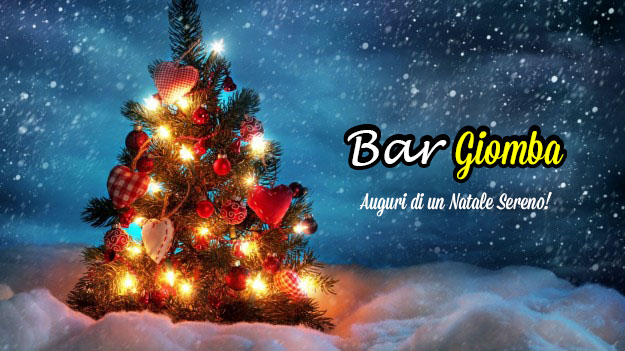 "Buon Natale dal ""Bar Giomba""!"