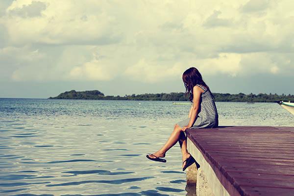 Bisogna essere forti per essere consapevoli di essere soli