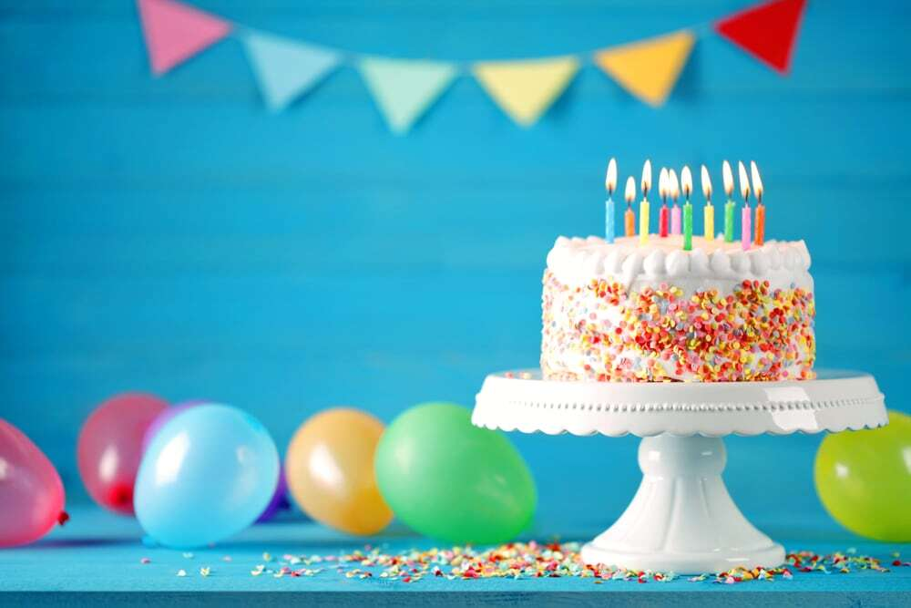 Il compleanno del Giomba E sono 32