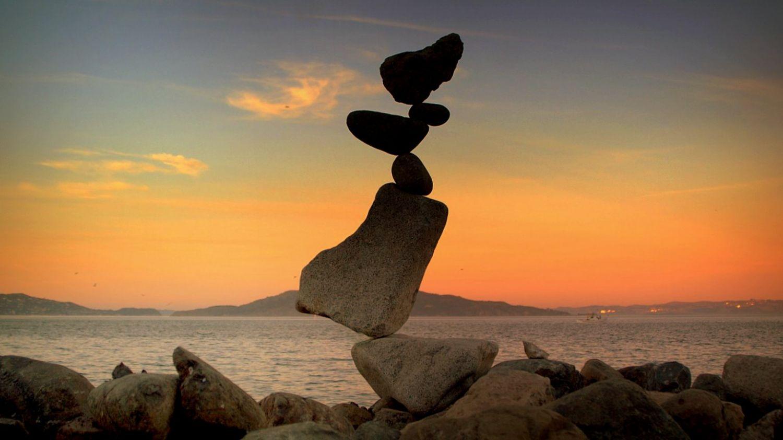 Mantieni l'equilibrio con te stesso e quindi con gli altri