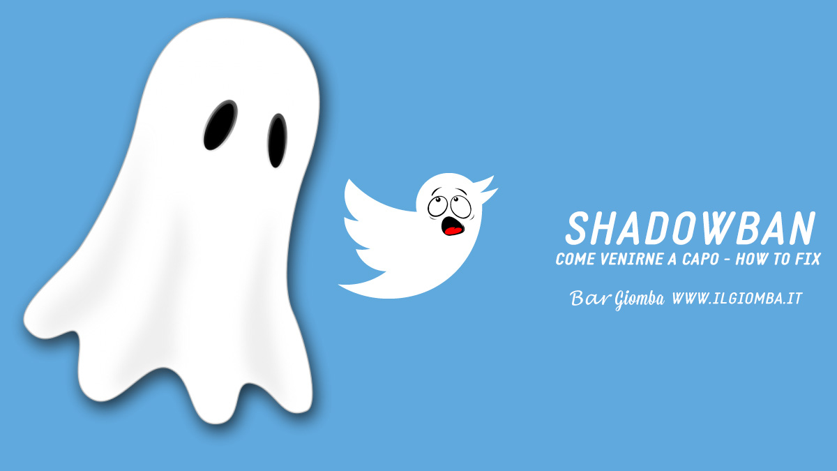 Twitter Shadowban Come venirne fuori How To Fix Bar Giomba