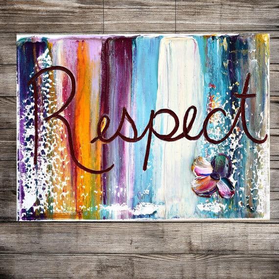 Rispetta te stesso prima di chiedere rispetto