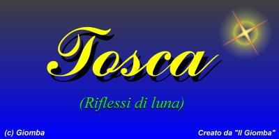 Il Giomba intervista i bloggers di Tiscali : intervista a Tosca