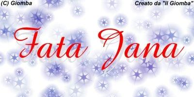 Il Giomba intervista i bloggers di Tiscali : intervista a Fata Jana (2 Parte)
