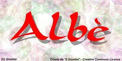 Il Giomba intervista i bloggers di Tiscali : intervista ad Albè