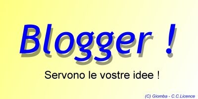 APPELLO AI BLOGGERS DI TISCALI : Serve la vostra collaborazione
