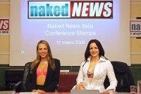 Naked News : arriva in Italia il TG con il nudo finale !