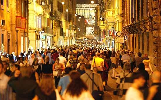 """Roma : cala il sipario sulla """"Notte Bianca"""""""