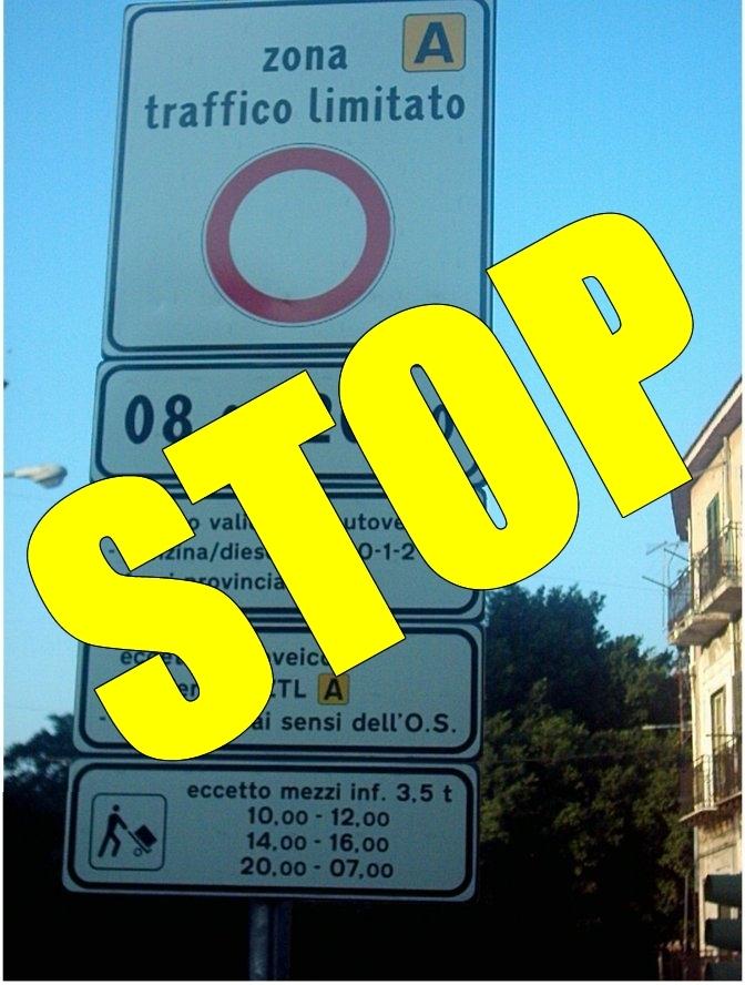 Sentenza storica : il TAR annulla le ZTL a Palermo
