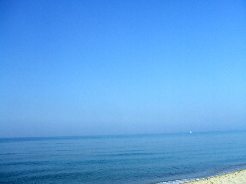 Dove il cielo si perde nel mare