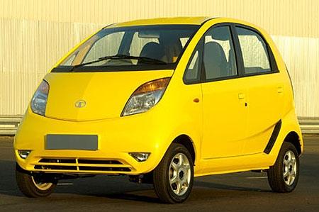 Tata Nano : arriva l'auto … Da 1900 Euro !