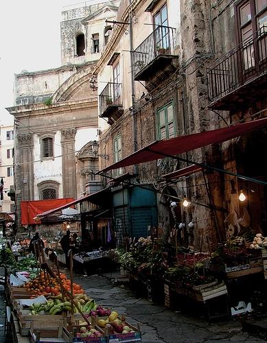 Palermo la domenica mattina