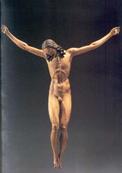 A Palermo il Crocifisso Ligneo di Michelangelo : opera d'arte o blasfemità ?