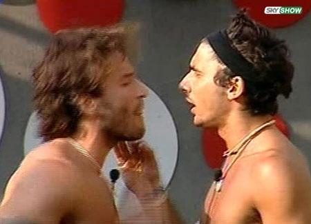 Rissa nella casa del Grande Fratello tra Gianluca e Ferdi