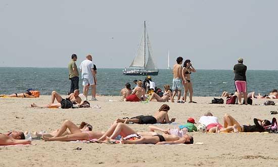 Colori sulla spiaggia