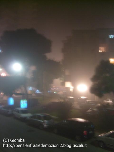 Nebbia a Palermo