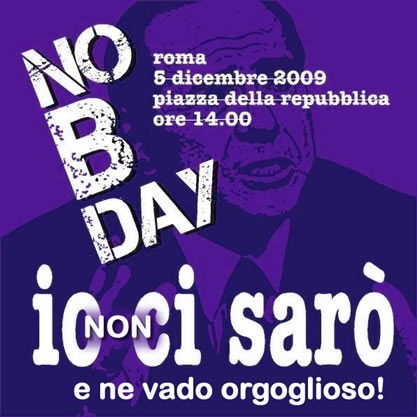 "Una buffonata chiamata ""No B Day"""